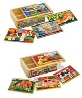 Melissa & Doug Pets and Farm Animals Puzzles
