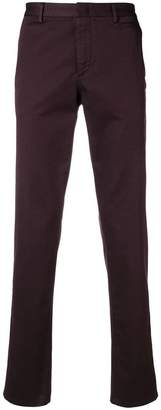 Prada turn-up hem tapered trousers