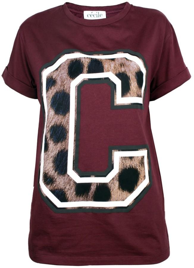 Etre Cécile Big Cheetah C Tee