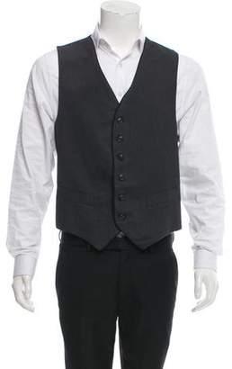 Oliver Spencer Herringbone Suit Vest w/ Tags