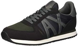 Armani Exchange A|X Men's Retro Running Sneaker Black