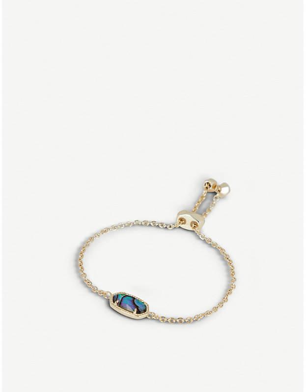 Elaina 14ct gold-plated Abalone Shell bracelet