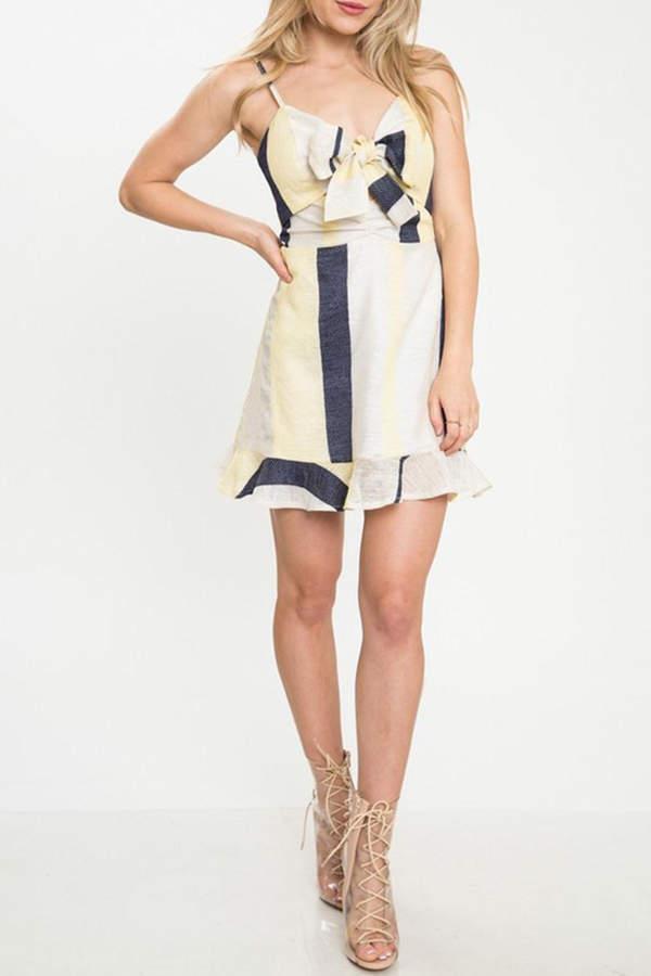 Latiste Stripe Mini Dress