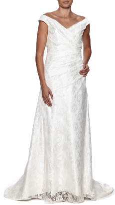 Cicada Lace Heather Gown