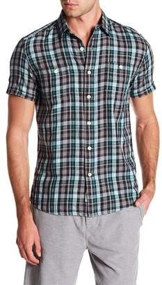 Grayers Redford Summer Slub Short Sleeve Twill Shirt