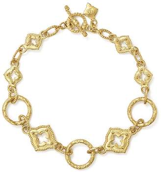 Armenta 18K Yellow Gold Sueno Sculpted Circle Link Bracelet