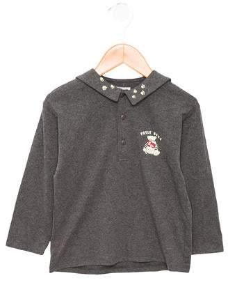 Catimini Boys' Long Sleeve Polo Shirt w/ Tags
