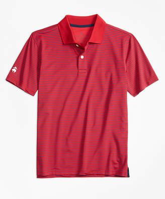 Brooks Brothers Boys Stripe Performance Polo Shirt