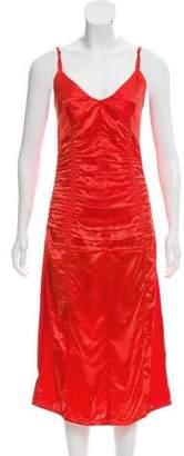 Helmut Lang Sleeveless Evening Dress