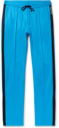 Valentino Stripe-Trimmed Jersey Trousers