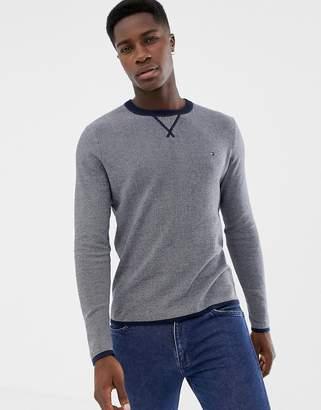 Tommy Hilfiger crew neck logo sweater