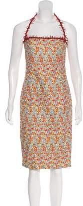 Versace Halter Mini Dress