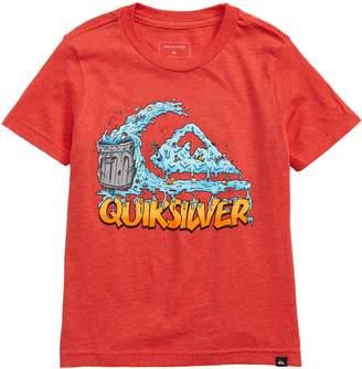 Quiksilver Green Cruz Graphic T-Shirt