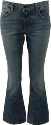 Alexander Wang Trap Crop Boot Leg Jean