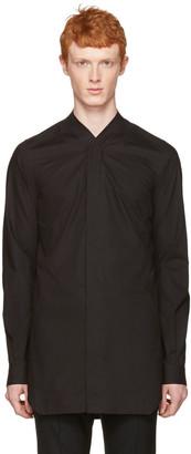 Rick Owens Black Faun Shirt $660 thestylecure.com