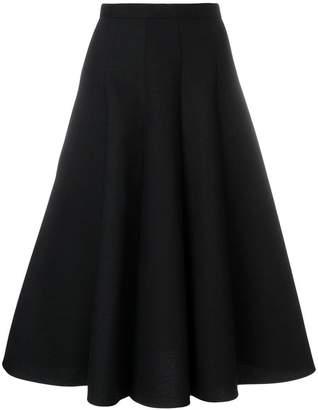 Junya Watanabe flared midi skirt
