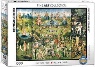Garden Of Earthly Delights Eurographics Fine Art The 1000-Piece Jigsaw Puzzle Set