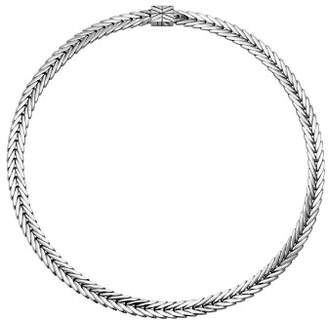 John Hardy Sterling Silver Modern Chain Small Collar Necklace, 18""