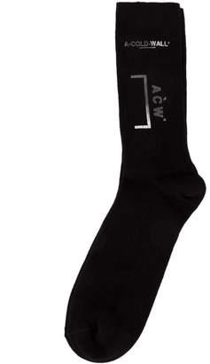 A-Cold-Wall* logo print socks