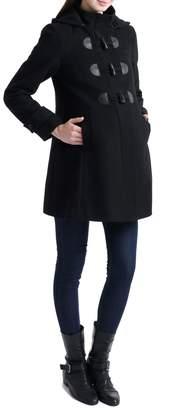Kimi and Kai 'Paisley' Maternity Duffle Coat