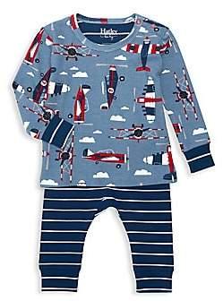 Hatley Baby Boy's Two-Piece Paper Planes Pajama Set