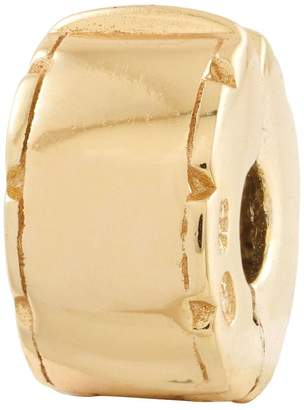 Prerogatives Gold-Plated Sterling Hinged Clip Bead