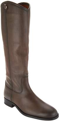 Frye Wide Calf Leather Tall Boots - Melissa Button 2