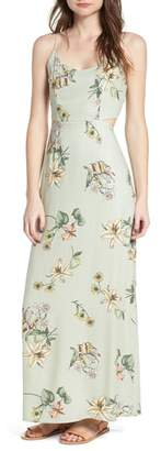 One Clothing Floral Print Maxi Dress
