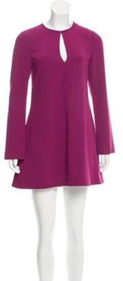 Elizabeth and James Cutout Mini Dress