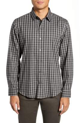 Zachary Prell Lieberman Regular Fit Check Sport Shirt