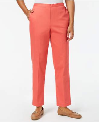 Alfred Dunner Petite Straight-Leg Pants