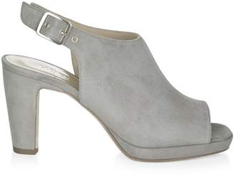 e8b934dec877 Grey Platform Heels - ShopStyle UK
