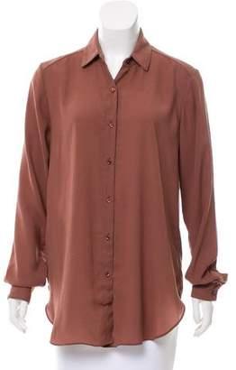 Kimberly Ovitz Long Sleeve Button-Up Top