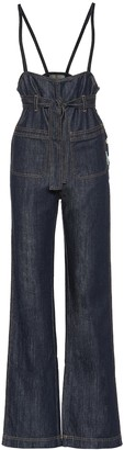 ALEXACHUNG Denim overalls