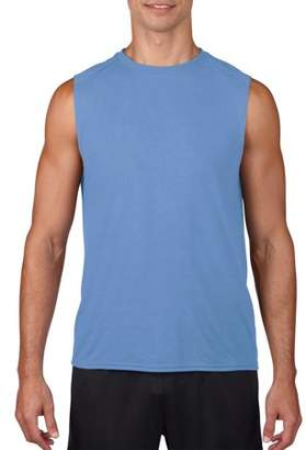 Gildan Mens AquaFX Performance Sleeveless T-Shirt