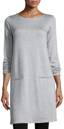 Eileen Fisher Long-Sleeve Fleece Tunic, Petite