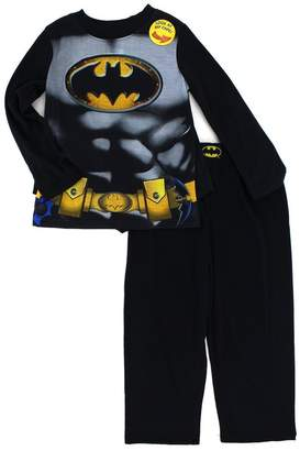 DC Comics Batman Boys Long Sleeve Poly Pajamas