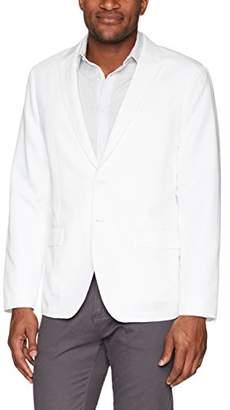 Calvin Klein Men's 2 Button Linen Blazer Sportscoat