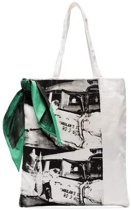 Calvin Klein x Andy Warhol Foundation Ambulance Disaster shopping bag