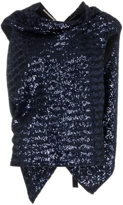 Roland Mouret eugene sequin embellished silk top