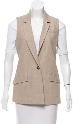MICHAEL Michael Kors Linen Notch-Lapel Vest