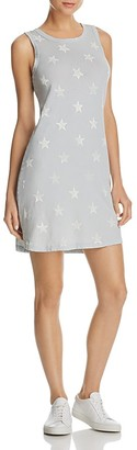 Current/Elliott The Muscle Tee Star Print Dress - 100% Exclusive $138 thestylecure.com