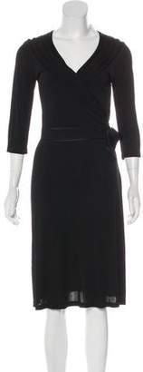 Celine Long Sleeve Knee-Length Dress w/ Tags