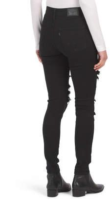 Levi's Levis Juniors 721 High Rise Skinny Jeans