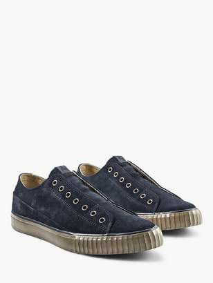 John Varvatos Washed Suede Low Top