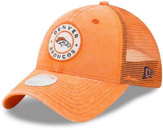New Era Women's Denver Broncos Perfect Patch 9TWENTY Snapback Cap