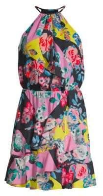 Parker Cosma Halter Midi Dress