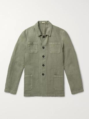 Massimo Alba Linen Shirt Jacket