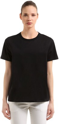 Moncler Oversized Cotton Jersey T-Shirt