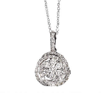 Effy Fine Jewelry Bouquet 14Kt Diamond Pendant